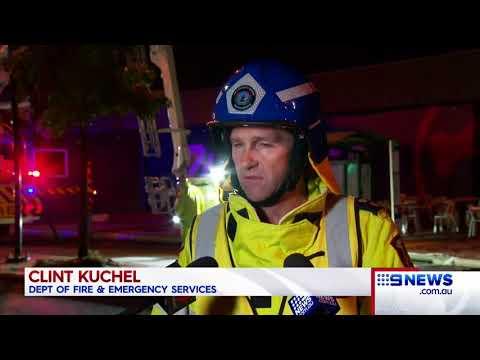 Bunnings fire | 9 News Perth