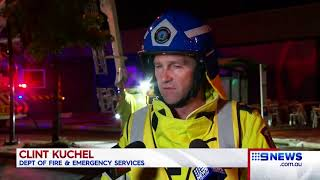 Bunnings fire | 9 News Perth