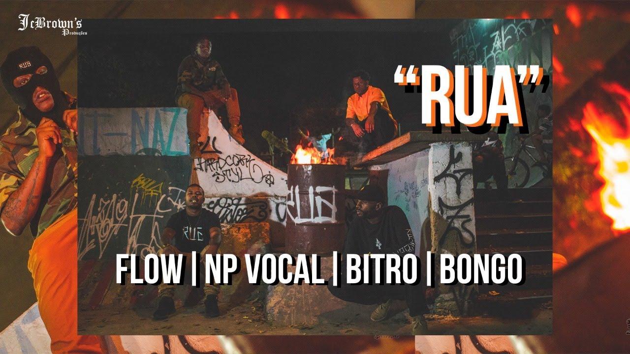 Flow MC | NP Vocal | Beto Bongo | Bitrinho | DJ Azul - RUA WEAR  prod Bnon