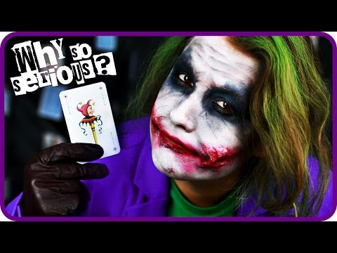 JOKER HALLOWEEN MAKE UP TUTORIAL II Sissi