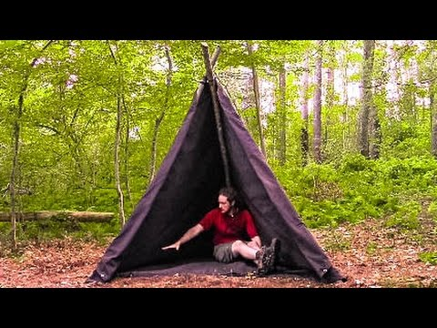 How I made my Survival Shelter on History Channel's ALONE