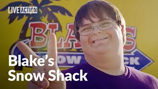 Blake's Snow Shack - Business Owner with Down Syndrome