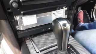 BMW 5 Series E60/E61 CCC Navigation Professional SAT NAV  How To Remove Procedure