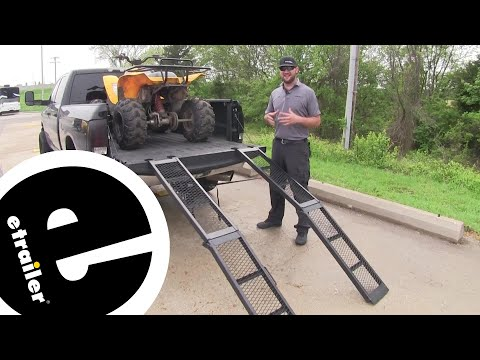 Erickson Arched Loading Ramps Review - etrailer.com