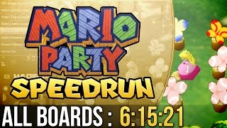 Mario Party All Boards (Normal) Speedrun in 6:15:21
