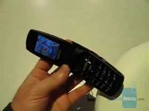 Hands-on with Samsung D407 phone