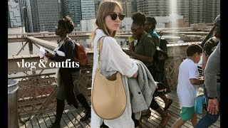 A New York Vlog & Spring Outfits