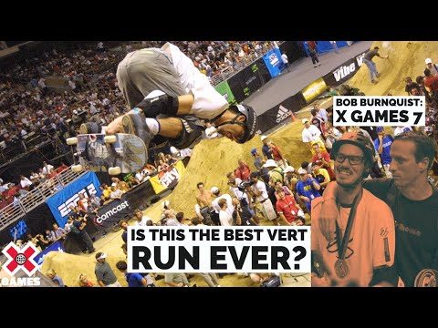 Bob Burnquist Wins Skateboard Vert Gold - X Games Seven