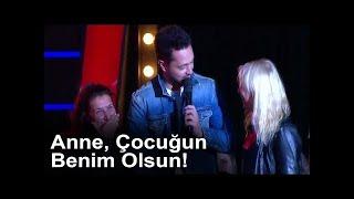 Murat Boz Yarışmacıyı İkna Etmek İçin Annesinin Yanına Gitti!   O Ses Türkiye