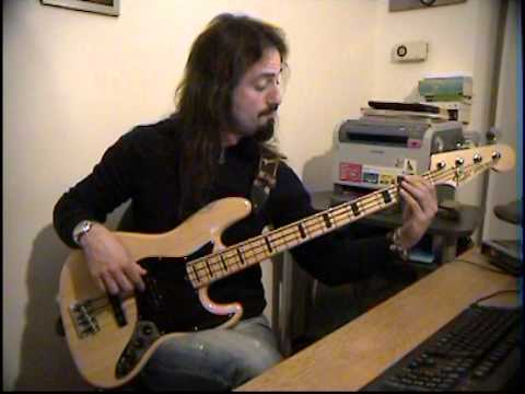 Elio e le Storie Tese - I am the walrus BASS COVER by FFKING