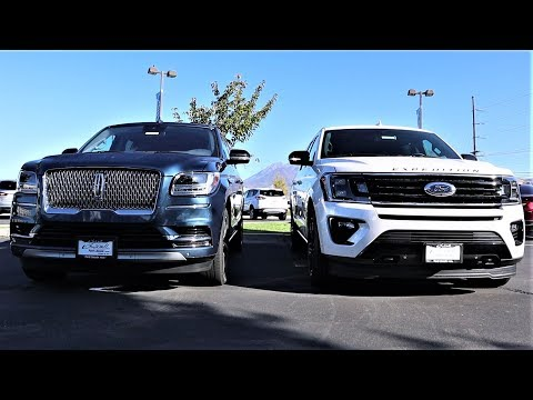 2019 Lincoln Navigator Vs 2019 Ford Expedition: Is The Navigator Worth $15,000 More???