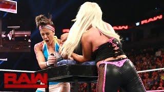 Bayley vs. Dana Brooke - Arm Wrestling Match: Raw, Oct. 24, 2016
