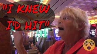 Crazy Slot Lady SKIPPED Her DOCTOR Visit to Gamble (Gambling Vlog#23)