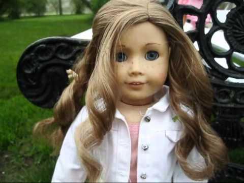 american girl doll springtime hair