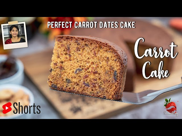 Carrot Dates Cake Malayalam | #shorts | ബേക്കറി ക്യാരറ്റ് കേക്ക് | 1 KG Carrot Cake Recipe Malayalam
