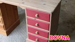 переделка как обновить деревяннй стол от Dovna Enterprises