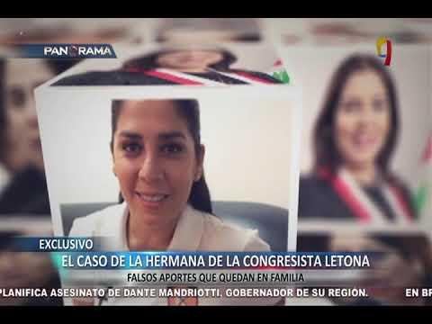 EXCLUSIVO: la hermana de Úrsula Letona, falsos aportes que quedan en familia