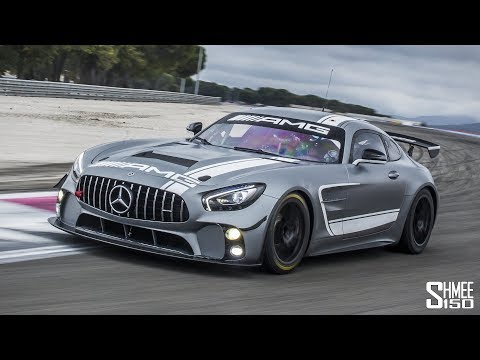 The AMG GT4 Makes My GT R Look Silly! | EXPERIENCE