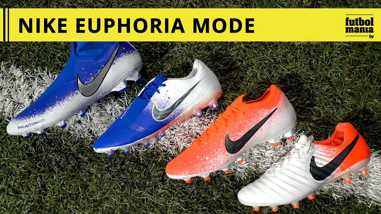 """Llegan los colores a Nike Nuevo """"Euphoria pack"""" Fútbol Emotion"""