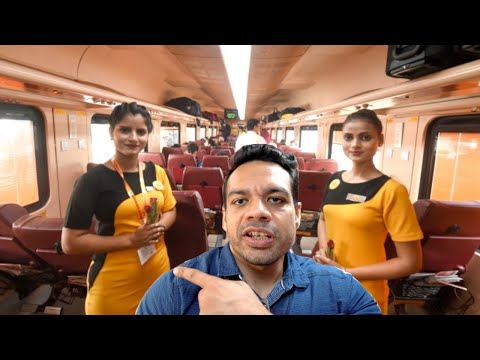 India's First PRIVATE TRAiN with Lady Hostess