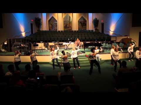 Caldwell Academy: Talent Show 2014 Teacher Flash Mob