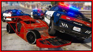 GTA 5 Roleplay - FLIP CAR BANK ROBBERY | RedlineRP