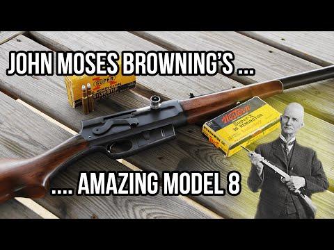 John Moses Browning's Amazing Remington Model 8 Semi-Auto Rifle