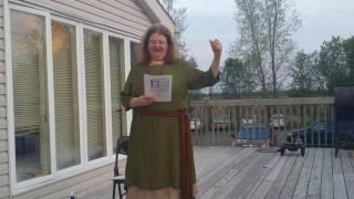 Prudence Priest at Midgard 13 Viking Festival 2016, American Viking (Thor Bernstine)