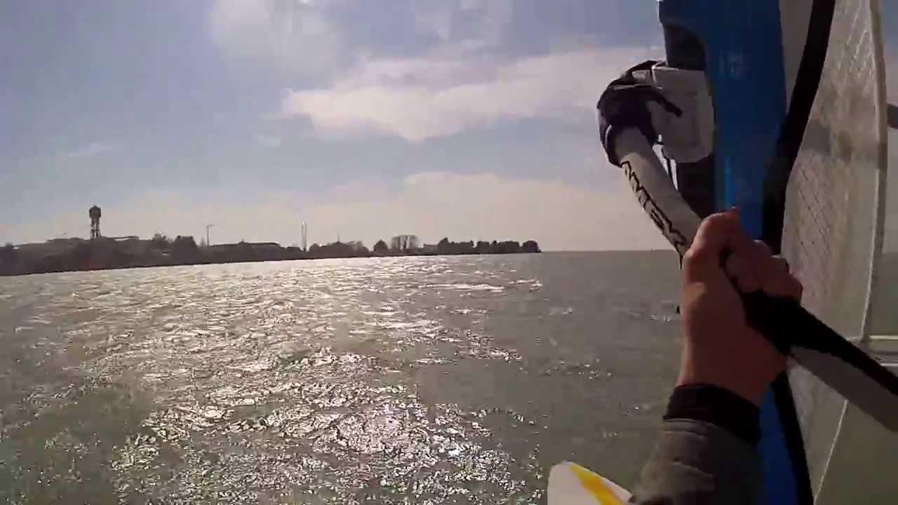 Alex Ravagnan.L.W.C.VE.Freeriding Venice Lagoon Italy Gopro2 12.3.2014