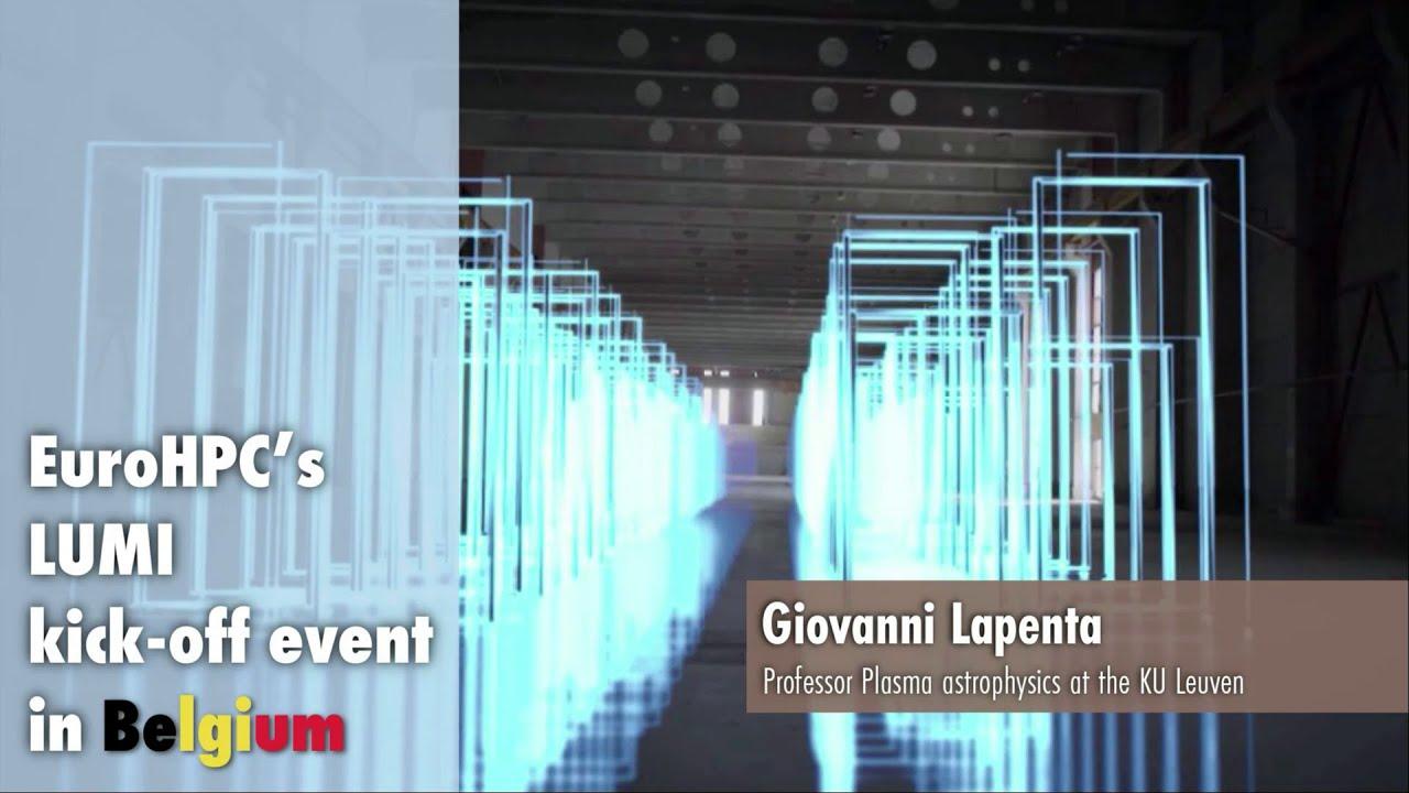LUMI Kickoff Presentation | Giovanni Lapenta