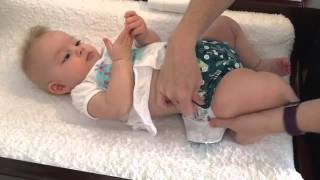 Designer Bums Modern Cloth Nappies - Fit Guide