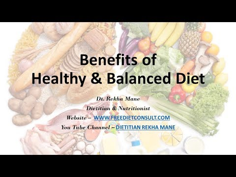 BENEFITS OF HEALTHY AND BALANCED DIET