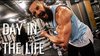 DAY IN THE LIFE | Fitness Model Photo Shoot Ft. Ross Dickerson Face Plant! | 6 Week Shred Ep. 12