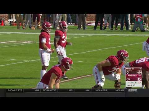 2016 Mississippi State vs. #1 Alabama (HD)