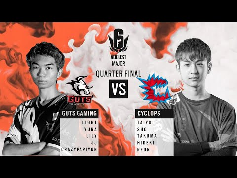 GUTS Gaming vs Cyclops // APAC Six August 2020 Major – North Division Quarter Finals
