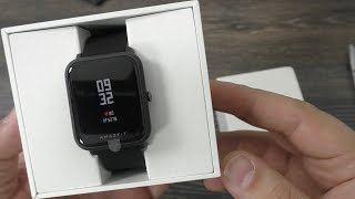 Xiaomi Huami AMAZFIT Bip INTERNATIONAL VERSION / умные часы Сяоми ► Посылка из Китая / GearBest