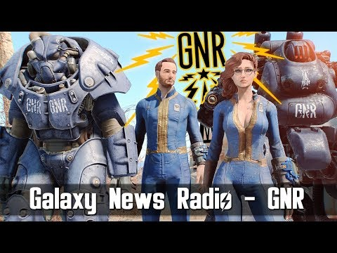 Fallout 4 Mod - Galaxy News Radio GNR From Capital Wasteland In FALLOUT 4 With DJ Cerberus (XB1/PC)