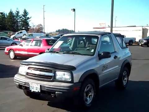 Sold 2002 Chevrolet Tracker V1648a Youtube