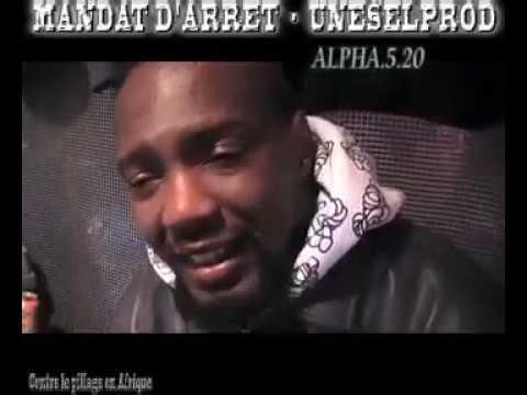 2010 Alpha 520 en interviews pour l'action du Mandat d'Arret Contre les pillages de l'Afrique