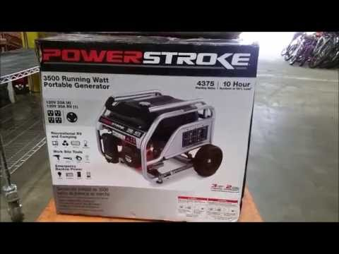 hqdefault power stroke 3500 watt generator youtube  at n-0.co