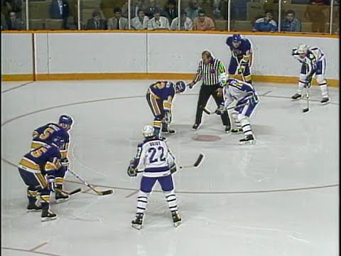 1987 Stanley Cup Playoffs Divsion Semi Final St Louis at Toronto
