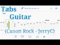 Canon Rock JerryC Guitar Tabs mp3