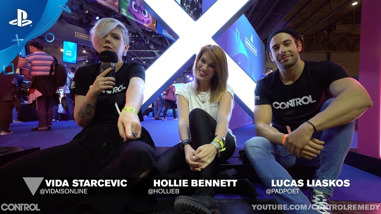 Control - EGX 2018: مقابلة Hollie Bennett مع Lucas Liaskos و Vida Starčević (‏Hollie Bennett interview with Lucas Liaskos & Vida Starčević‏) ‏| PS4