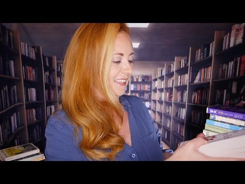 ASMR Library Role Play | Soft Book Talk, Pages & Pottering About