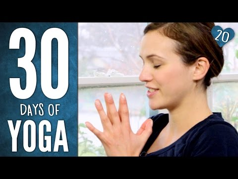 Day 20  Heart Practice  30 Days of Yoga
