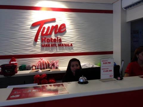 Tune Hotel Makati Double Room Twin Room Bar Restaurant Overview Rates by HourPhilippines.com