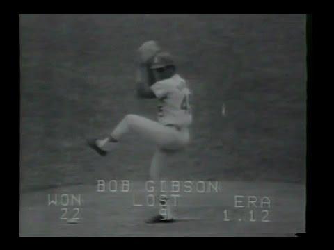 1968 World Series Game 4 St Louis at Detroit