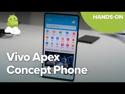 Vivo Apex Concept Phone Hands-on from MWC 2018