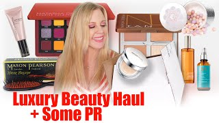 Luxury Beauty Haul With Some PR + Mini Reviews