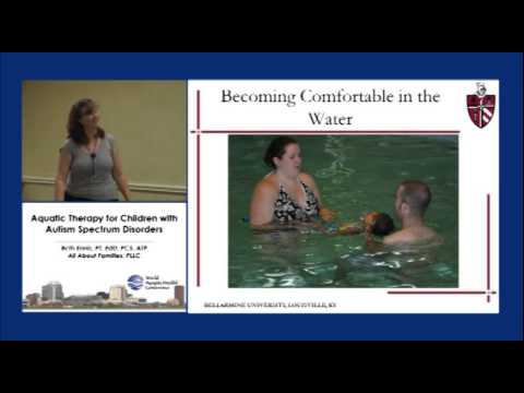 Aquatic Therapy for Children with Autism Spectrum Disorders